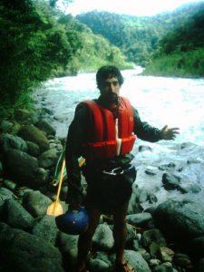 Rafael Gallo kayaking Costa Rica