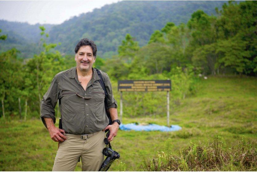 Rafael Gallo at his Pacuare River reserve