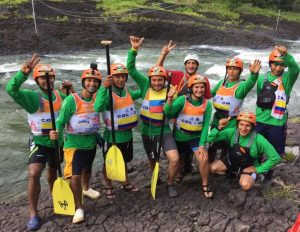 Rafting for Peace Team