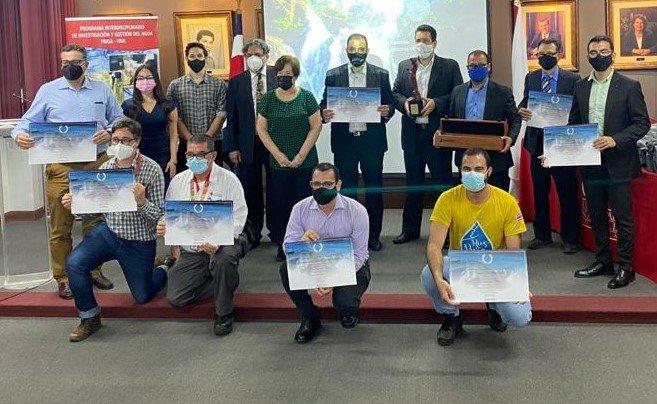 2021 Rafael Gallo Palomo Award participants